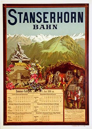 Anonym - Stanserhorn Bahn