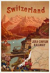 Conrad E. - Jura-Simplon Railway