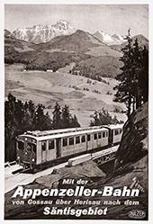 Monogramm Zim. - Appenzeller-Bahn