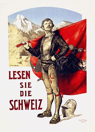Schaupp Richard - Lesen Sie die Schweiz