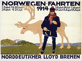 Amtsberg Otto - Norwegen-Fahrten