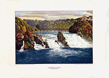 Schlatter Ernst Emil - La Chûte du Rhine