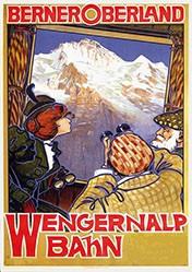 Anonym - Wengernalp Bahn