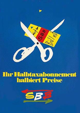 Leupin Herbert - SBB - Halbtaxabonnement