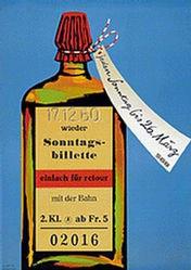 Barth Wolfgang - SBB - Sonntagsbillette