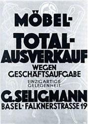 Hunziker Beni - Möbel-Totalausverkauf