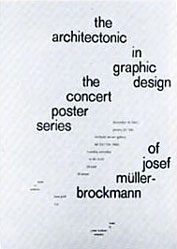 Müller-Brockmann Josef - Graphic Design