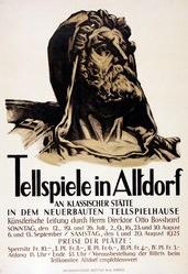 Anonym - Tellspiele in Altdorf