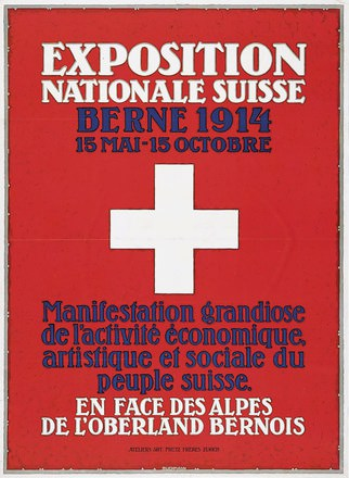 Buchmann Otto - Exposition Nationale Suisse
