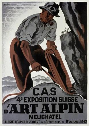 de Coulon Eric - Exposition Suisse d'Art Alpin