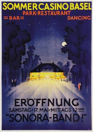 Mangold Burkhard - Sommercasino Basel