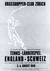 Schwarz - Tennis - Länderspiel