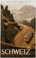 Surbek Viktor - Schweiz Alpenposten