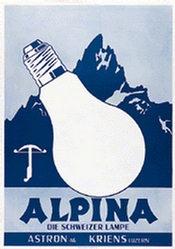 Anonym - Alpina Glühbirnen