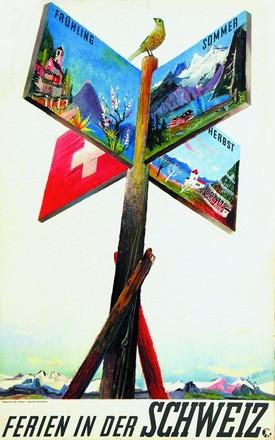 Carigiet Alois - Ferien in der Schweiz
