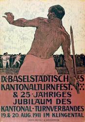 Mangold Burkhard - Baselstädtisches Kantonalturnfest