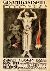 Baumberger Otto - Gesamtgastspiel Darmstadt