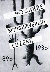 Erni Hans - 40 Jahre Konsumverein Luzern