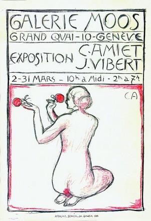 Amiet Cuno - Exposition C. Amiet / J .Vibert