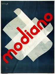 Bortnyik Sándor - Modiano Cigaretten
