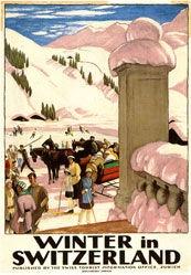 Cardinaux Emil - Winter in der Schweiz