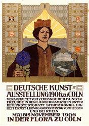 Cissarz Johann Vinzenz - Deutsche Kunstausstellung