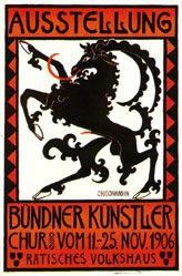 Conradin Christian - Ausstellung Bündner Künstler