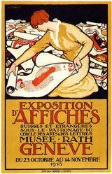 Courvoisier Jules - Exposition d'Affiches