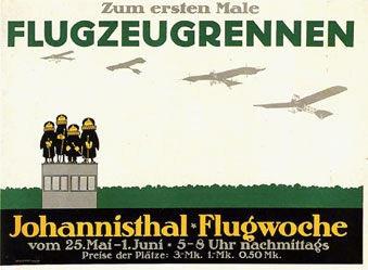 Klinger Julius - Flugzeugrennen