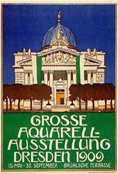 Merseburg Otto Wilhelm - Aquarell-Ausstellung