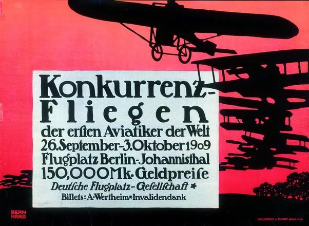 Bernhard Lucian - Konkurrenz-Fliegen