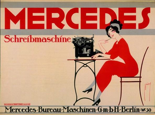 Deutsch Ernst (Dryden) - Mercedes Schreibmaschine