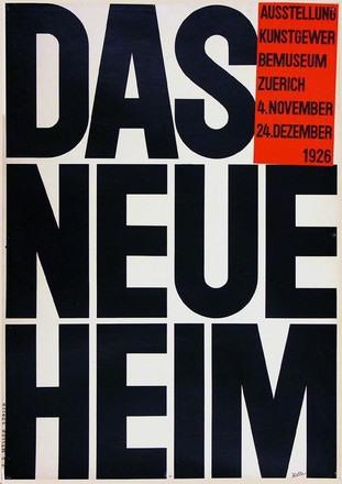 Keller Ernst - Das neue Heim