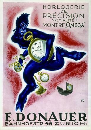 Moos Carl - E. Donauer Uhren