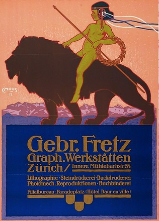 Moos Carl - Gebrüder Fretz