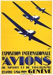 Weber Max - Exposition d'Aviation Genève