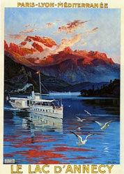 d'Alesi Hugo - Le lac d'Annecy