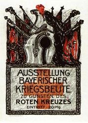 Monogramm F.v.S. - Bayrische Kriegsbeute