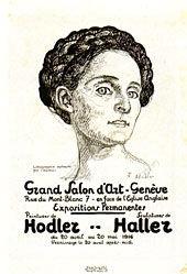 Hodler Ferdinand - Peintures de Hodler / Sculptures de Haller
