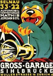 Huber Emil - Gross-Garage Sihlbrücke