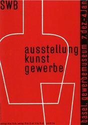 Käch Walter - SWB - Ausstellung Kunstgewerbe