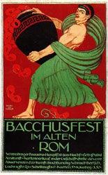 Köhler Georg Johann - Bacchusfest im alten Rom