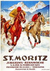 Laubi Hugo - Rennwoche St. Moritz
