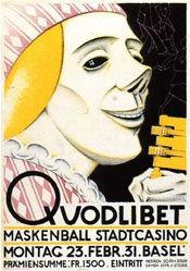 Mangold Burkhard - Quodlibet-Maskenbälle