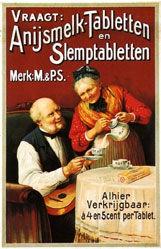 Anonym - Anijsmelk - Tabletten