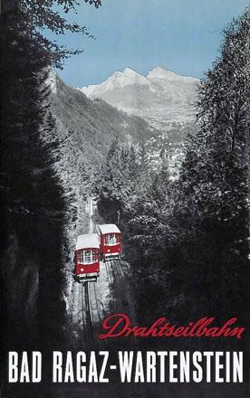 Anonym - Drahtseilbahn