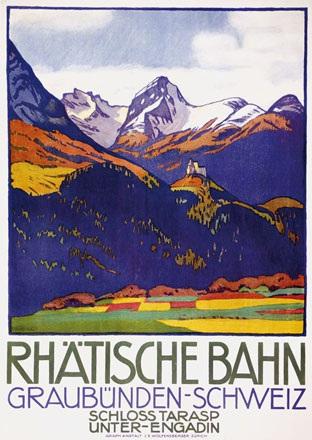 Cardinaux Emil - Rhätische Bahn