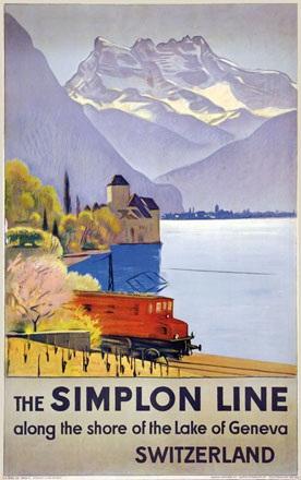 Cardinaux Emil - Simplon Line