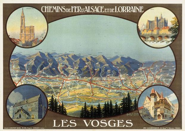 Duval Constant Léon - Les Vosges