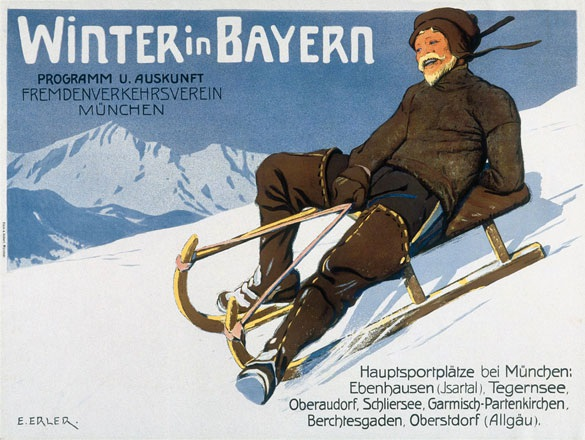 Erler Erich - Winter in Bayern